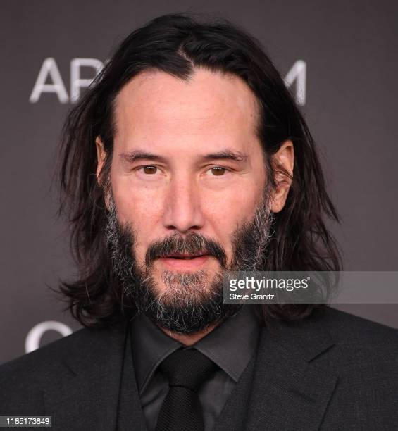 Keanu Reeves arrives at the LACMA Art + Film Gala Presented By Gucci on November 02, 2019 in Los Angeles, California.
