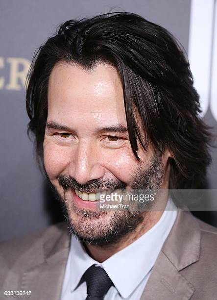 Keanu Reeves arrives at the Los Angeles premiere of Summit Entertainment's 'John Wick Chapter Two' held at ArcLight Hollywood on January 30 2017 in...