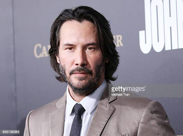 Keanu Reeves arrives at the Los Angeles premiere of Summit Entertainment's John Wick Chapter Two held at ArcLight Hollywood on January 30 2017 in...