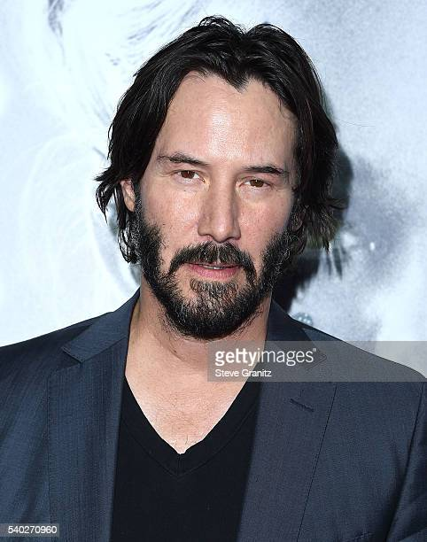 Keanu Reeves arrives at the Premiere Of Amazon's The Neon Demon at ArcLight Cinemas Cinerama Dome on June 14 2016 in Hollywood California