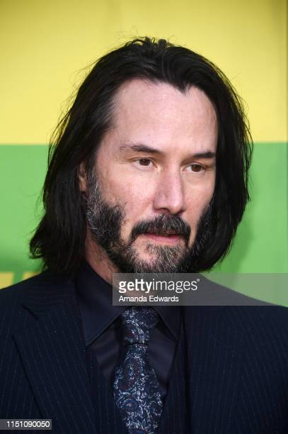 Keanu Reeves arrives at the premiere of Netflix's Always Be My Maybe at the Regency Village Theatre on May 22 2019 in Westwood California