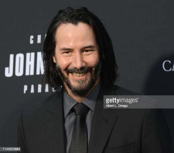 Keanu Reeves arrives for the Special Screening Of Lionsgate's John Wick Chapter 3 Parabellum held at TCL Chinese Theatre on May 15 2019 in Hollywood...