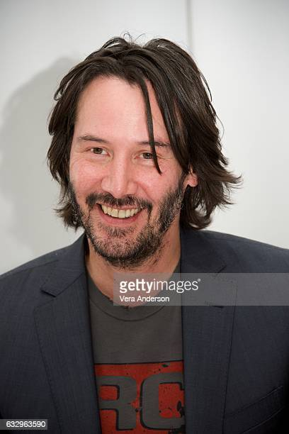 Keanu Reeves at the John Wick Chapter 2 Press Conference at the London Hotel on January 27 2017 in West Hollywood California