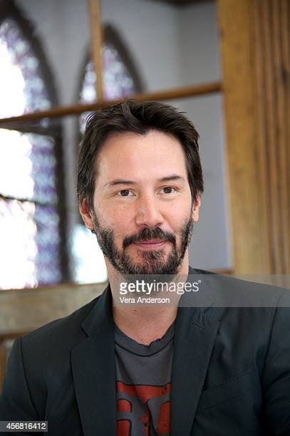 Keanu Reeves at the 'John Wick' Press Conference on October 7 2014 in West Hollywood California
