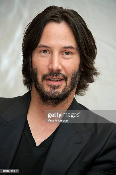 Keanu Reeves at the 'Man Of Tai Chi' Press Conference at The Fairmont Royal York Hotel on September 10 2013 in Toronto Ontario