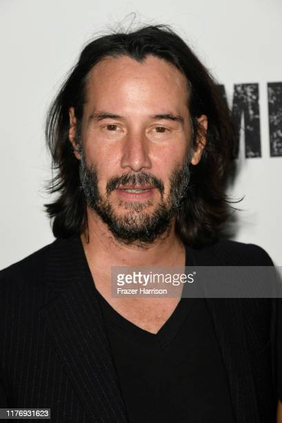 Keanu Reeves attends a Special Screening Of Lionsgate's Semper Fi at ArcLight Hollywood on September 24 2019 in Hollywood California