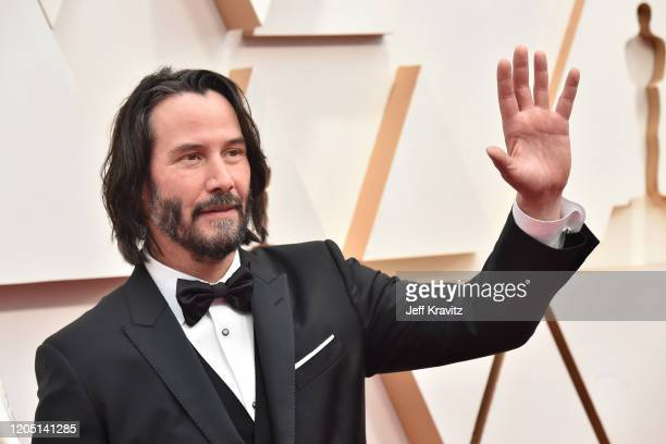 Keanu Reeves attends the 92nd Annual Academy Awards at Hollywood and Highland on February 09 2020 in Hollywood California