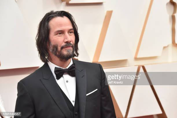 Keanu Reeves attends the 92nd Annual Academy Awards at Hollywood and Highland on February 09, 2020 in Hollywood, California.