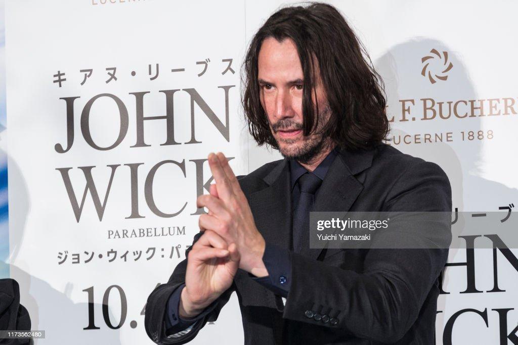'John Wick: Chapter 3  Parabellum' Premiere In Tokyo : News Photo