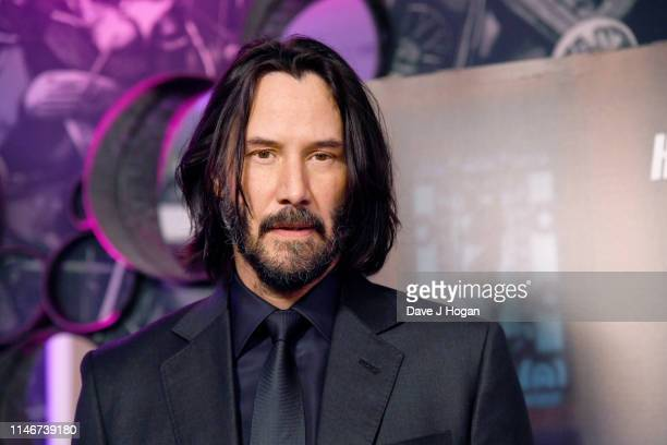 Keanu Reeves attends the John Wick special screenings at Ham Yard Hotel on May 03 2019 in London England