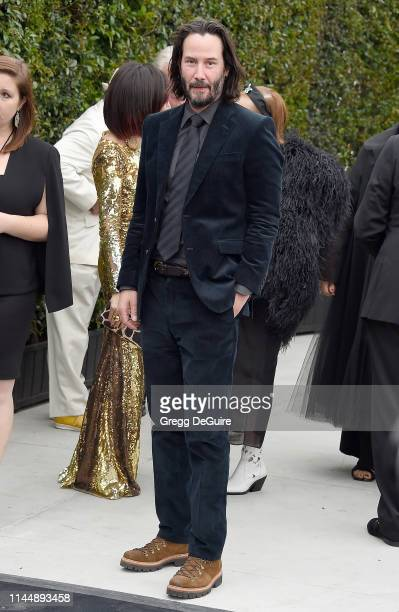 Keanu Reeves attends the MOCA Benefit 2019 at The Geffen Contemporary at MOCA on May 18 2019 in Los Angeles California
