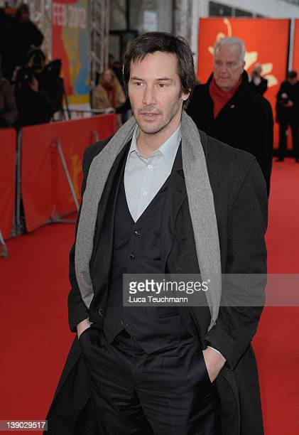 Keanu Reeves attends the 'Side By Side' Premiere during day seven of the 62nd Berlin International Film Festival at the Haus Der Berliner Festspiele...