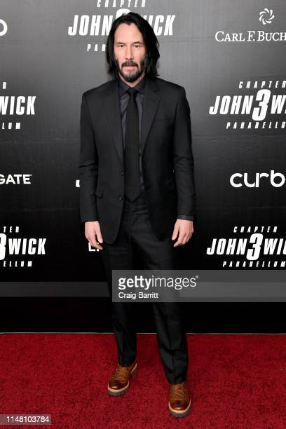 Keanu Reeves attends 'Time For The Big Screen' presented by Carl F Bucherer to celebrate the premiere of John Wick Chapter 3 Parabellum on May 09...