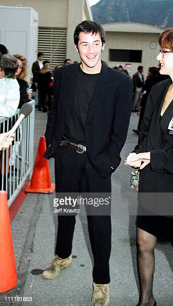 Keanu Reeves during 1992 MTV Movie Awards at Culver Studios in Culver City California United States