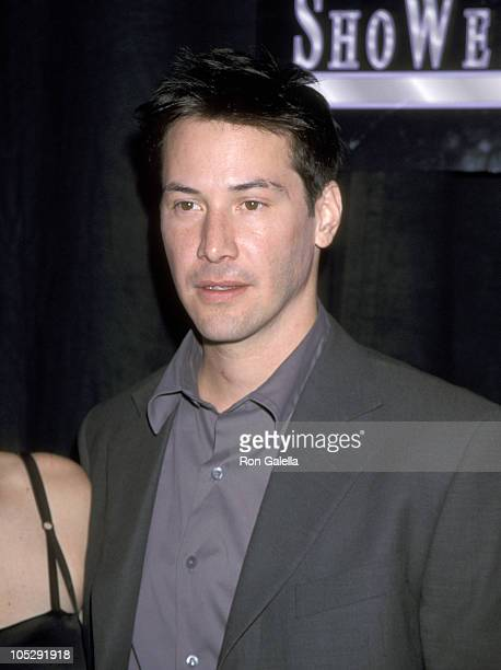 Keanu Reeves during 1999 ShoWest Awards Ceremony at Bally's Hotel and Casino in Las Vegas Nevada United States