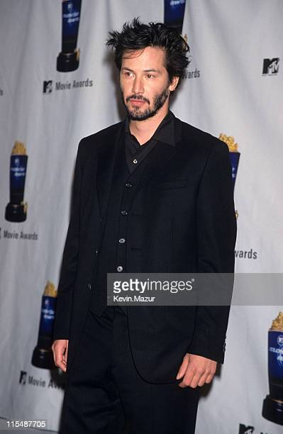 Keanu Reeves during 2nd Annual MTV Movie Awards at Disney Studios in Burbank California United States
