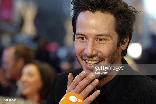 Keanu Reeves during 55th Berlin International Film Festival 'Thumbsucker' Press Conference in Berlin Germany