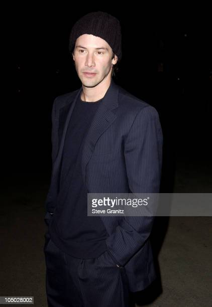Keanu Reeves during 'Final Flight Of The Osiris' World Premiere at Steven J Ross Theatre in Burbank California United States
