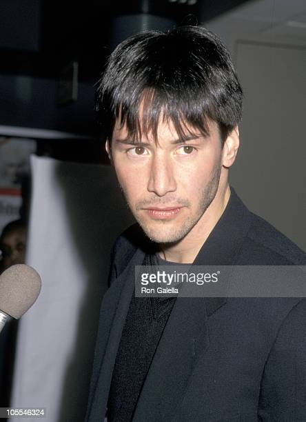 Keanu Reeves during Hamlet New York Premiere December 10 1996 at Walter Reade Theater Lincoln Center in New York City New York United States