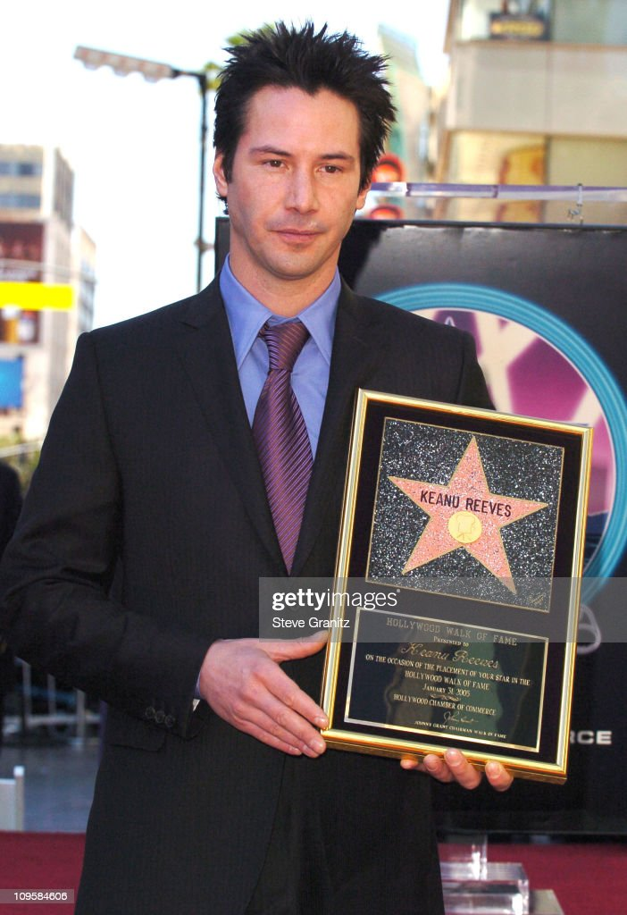 Image result for keanu reeves star hollywood walk fame