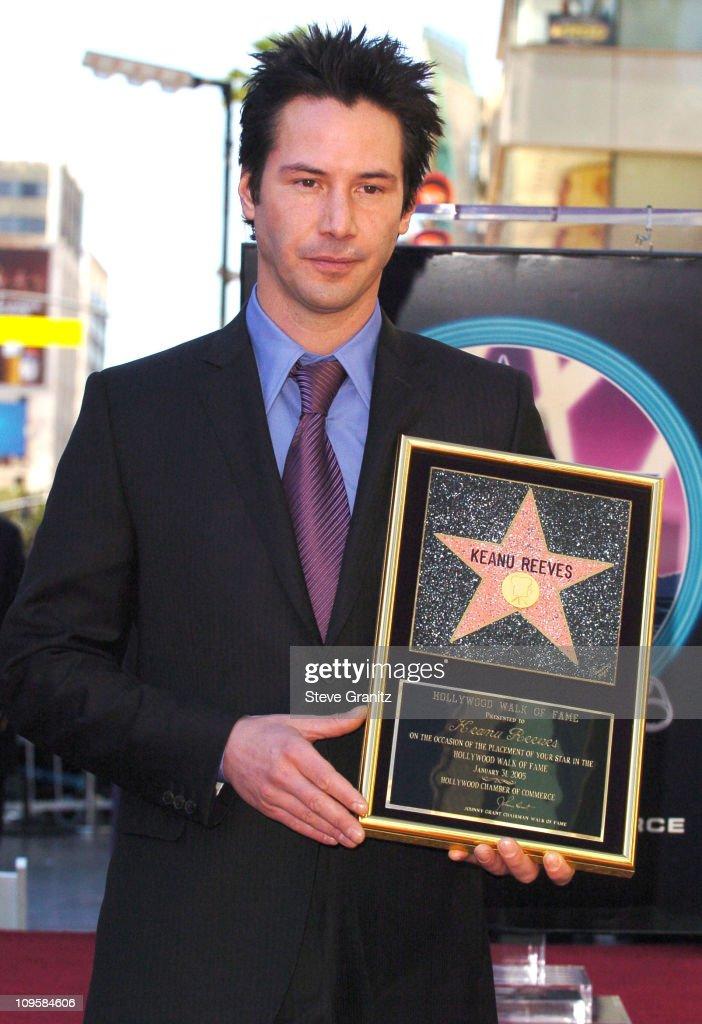 Image result for keanu reeves star hollywood walk fame