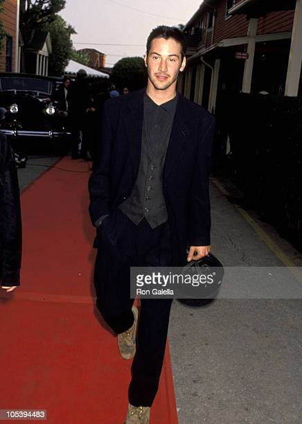 Keanu Reeves during The 7th Annual IFP/West Independent Spirit Awards at Raleigh Studios in Hollywood California United States