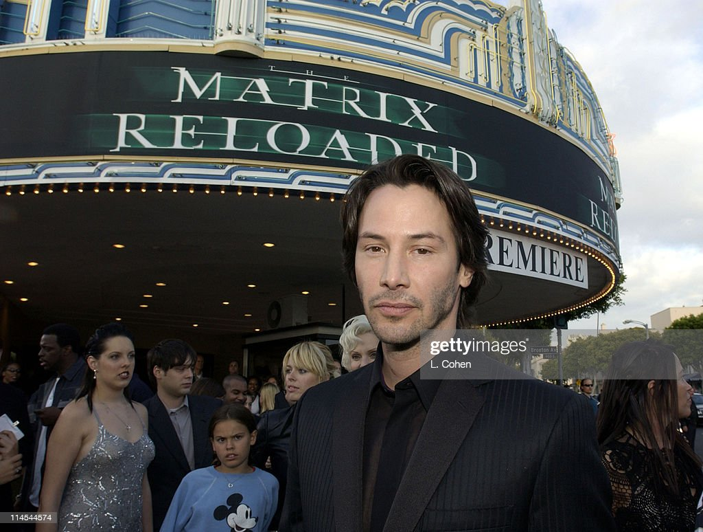 """The Matrix Reloaded"" Premiere - Black Carpet"
