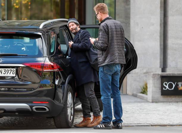 DEU: Keanu Reeves Sighting In Berlin
