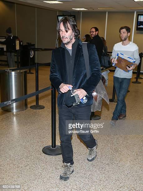 Keanu Reeves is seen on January 22 2017 in Park City Utah