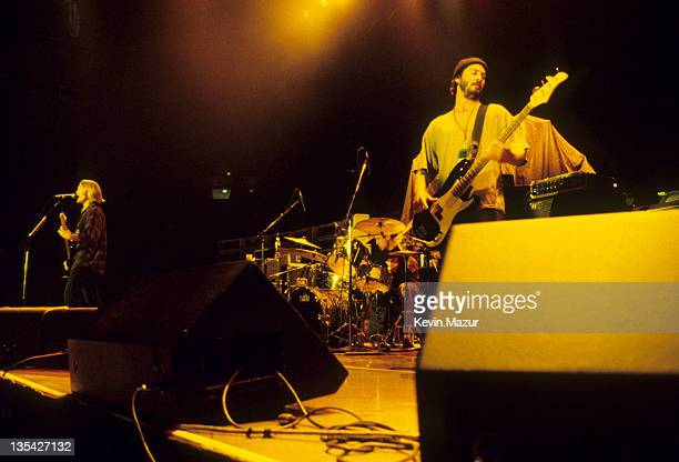 Keanu Reeves of Dogstar during Dogstar in Concert - 1995 File Photo's in New York City, New York, United States.