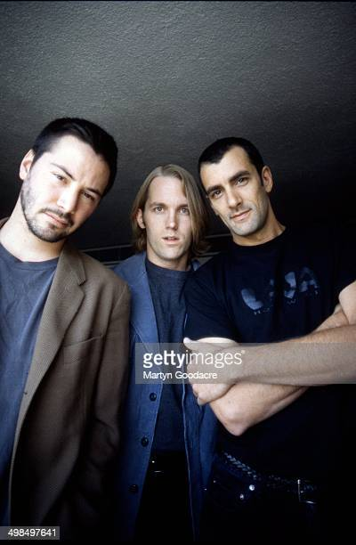 Keanu Reeves with his band Dogstar, Scotland, United Kingdom, 1996.