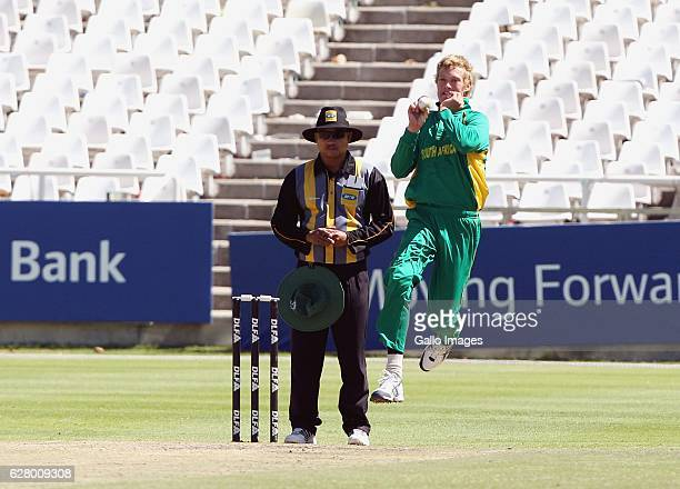 AFRICA JANUARY 20 Keaton Jennings during the One day international U19 match between South Africa and Zimbabwe at Sahara Park Newlands on January 20...