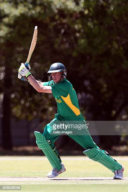 AFRICA JANUARY 23 Keaton Jennings during the U19 Twenty20 series match between South Africa and Zimbabwe at Northerns Cricket Club in Goodwood on...