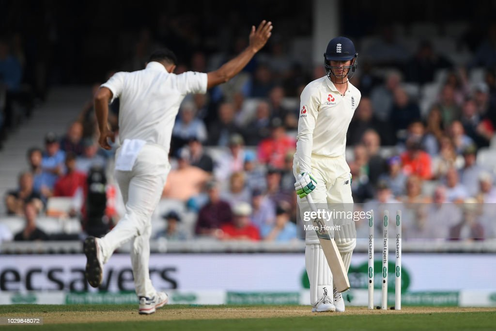 England v India: Specsavers 5th Test - Day Three : News Photo