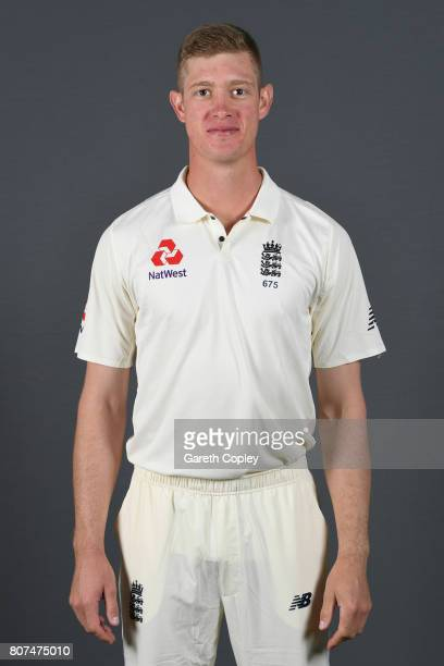 Keaton Jennings of England poses for a portrait at Lord's Cricket Ground on July 4 2017 in London England