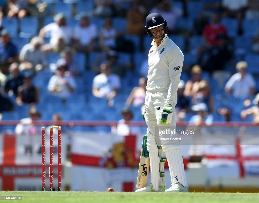 West Indies v England - 3rd Test: Day Three : News Photo