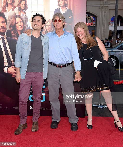 Keaton Simons Eric Roberts and Eliza Roberts arrive at the premiere of Warner Bros Pictures' This Is Where I Leave You at TCL Chinese Theatre on...