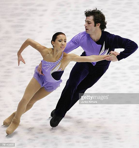 Keauna McLaughlin and Rockne Braubaker of USA compete in the Pairs Short Program of the ISU Grand Prix of Figure Skating NHK Trophy at Sendai City...
