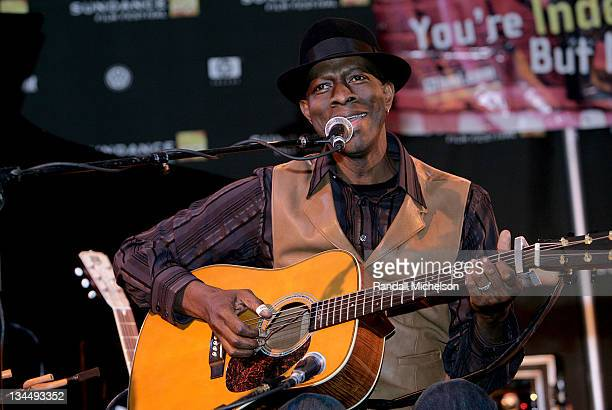 Keb Mo during 2007 Sundance Film Festival BMI Song Writers Snowball at Sundance House in Park City Utah United States