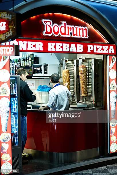 Kebab ficar à noite