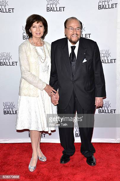Kedakai Turner and host James Lipton attends the New York City Ballet's Spring Gala on May 04 2016 in New York New York