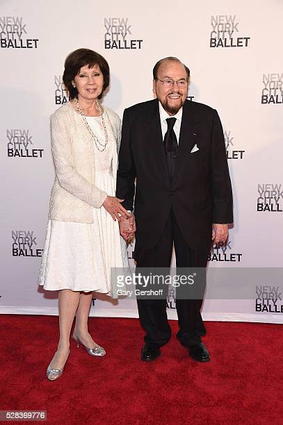 Kedakai Turner and host of Inside the Actors Studio James Lipton attend the 2016 New York City Ballet Spring Gala at David H Koch Theater at Lincoln...