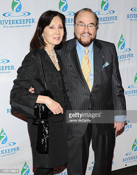 Kedakai Turner and James Lipton attend the 2011 Riverkeeper Fishermen's Ball at Pier Sixty at Chelsea Piers on April 13 2011 in New York City