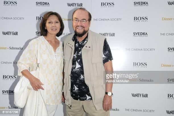 Kedakai Turner and James Lipton attend THE CINEMA SOCIETY with VANITY FAIR HUGO BOSS host a screening of DINNER FOR SCHMUCKS at East Hampton UA...