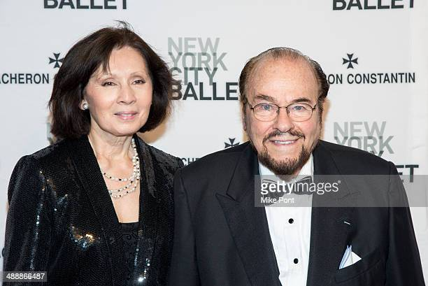 Kedakai Turner and James Lipton attend the New York City Ballet 2014 Spring Gala at David H Koch Theater Lincoln Center on May 8 2014 in New York City