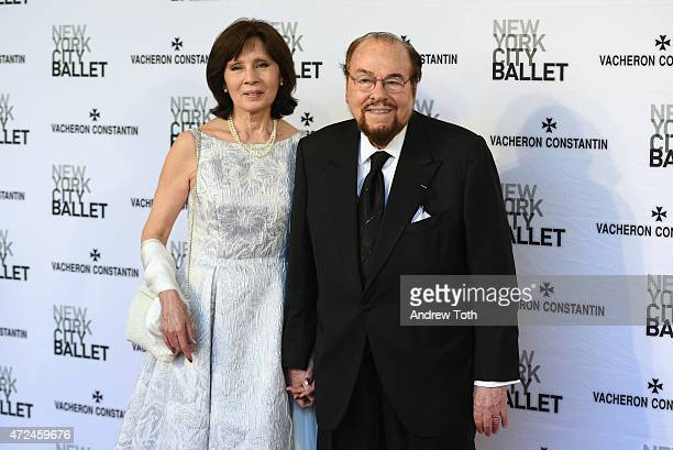 Kedakai Turner and James Lipton attend the New York City Ballet 2015 Spring Gala at David H Koch Theater Lincoln Center on May 7 2015 in New York City