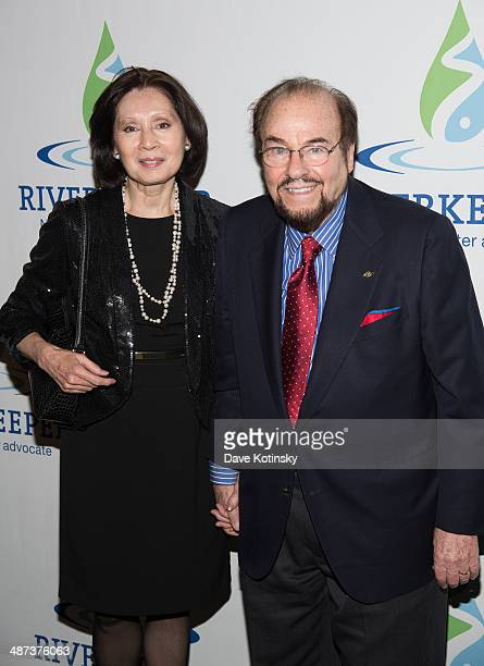 Kedakai Turner and James Lipton attends the 2014 Riverkeeper Fishermen's Ball at Pier Sixty at Chelsea Piers on April 29 2014 in New York City