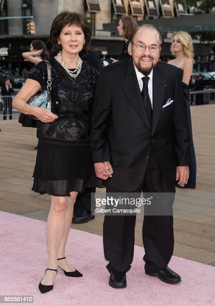 Kedakai Turner and Writer James Lipton attend the New York City Ballet's 2017 Fall Fashion Gala at David H Koch Theater at Lincoln Center on...