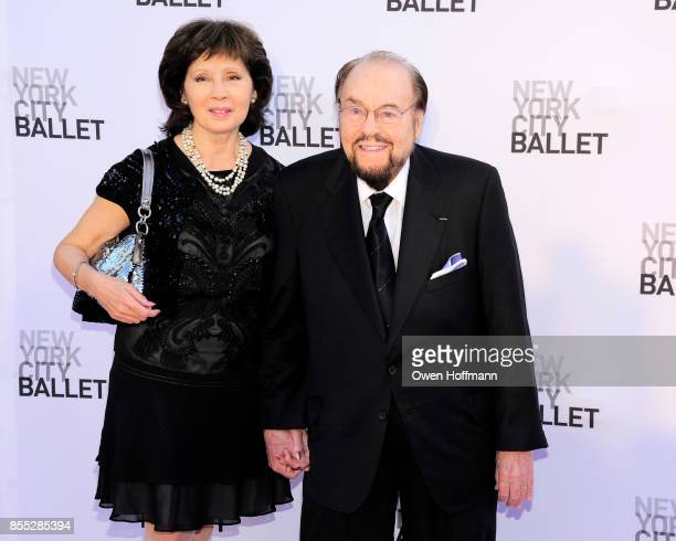 Kedakai Turner and Writer James Lipton attends the New York City Ballet's 2017 Fall Fashion Gala at David H Koch Theater at Lincoln Center on...