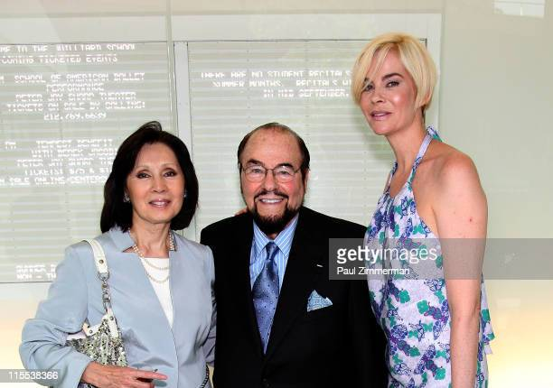 Kedaki Lipton James Lipton and Paige Bluhdorn attend the 2011 School of American Ballet Workshop Performance benefit at the Peter Jay Sharp Theater...